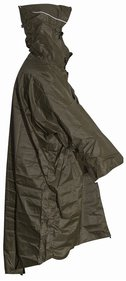 Lowland hiking poncho