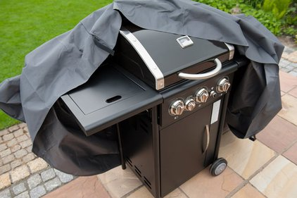 Nature cover for gas barbecue small