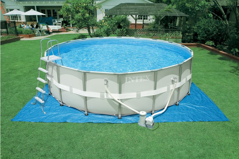 Intex Prism Frame Pool 488 opzetzwembad