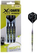 XQ Max MvG Mighty Generation 90% Tungsten dartpijlen