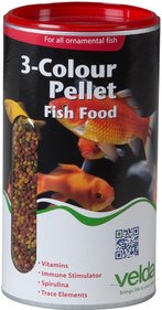 Velda 3-Colour Pellet Food