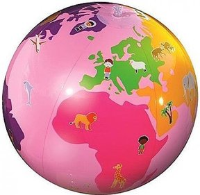 Caly-Toys Roly Poly opblaasbare globe