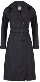 Happy Rainy Days wool touch long trenchcoat Albertville