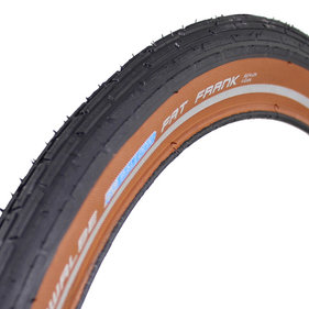 Schwalbe tire Fat Frank KevlarGuard reflection brown
