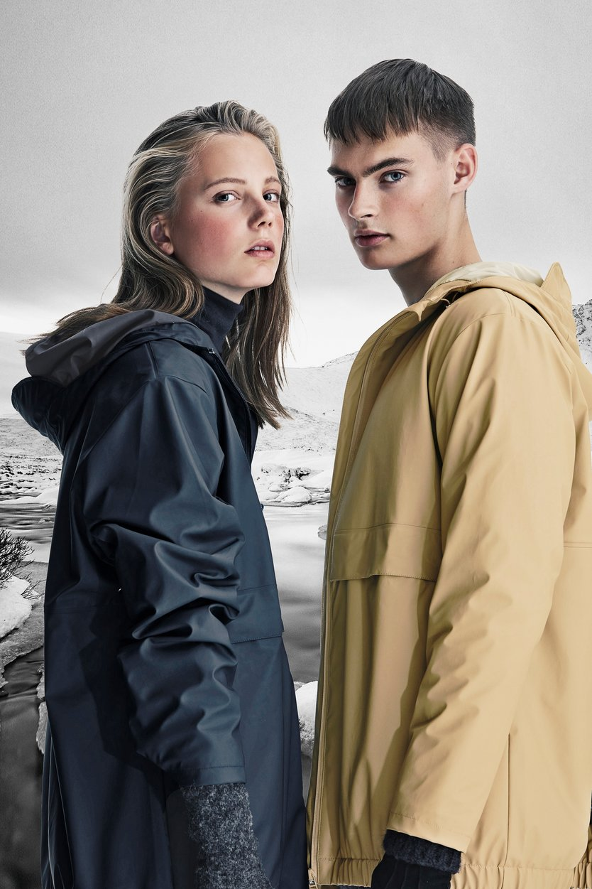 Rains Mile Jacket regenjas unisex
