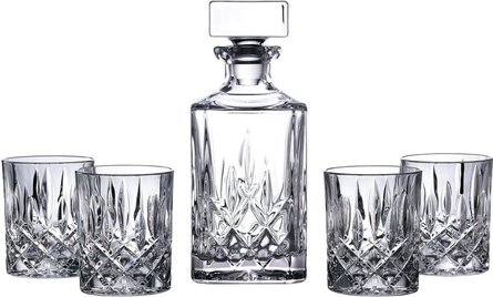 Royal Doulton Square whisky set - 5 piece