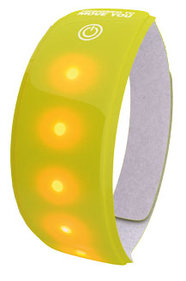 REFLECTION WW LIGHT BAND WITH RED LED YELLOW XL