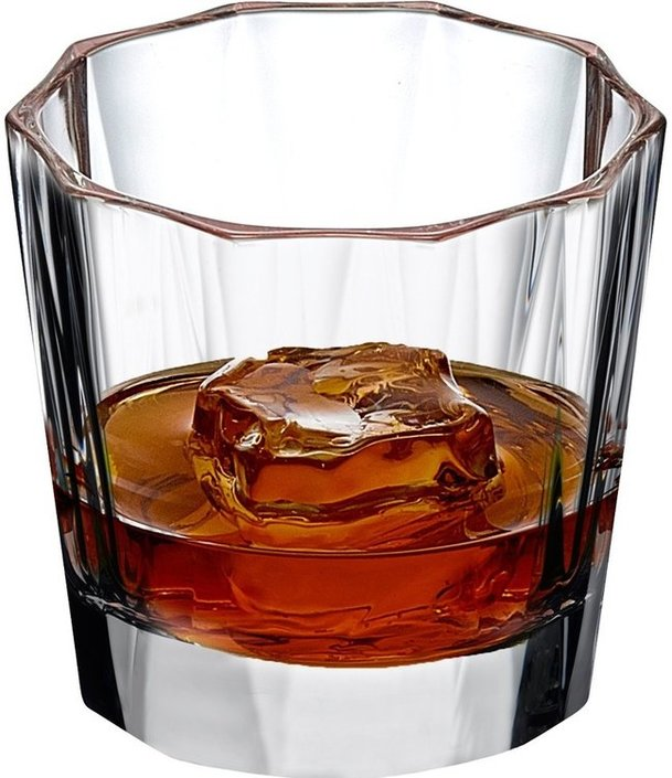 Nude Glass Hemingway whiskeyglas 330ml - set van 4