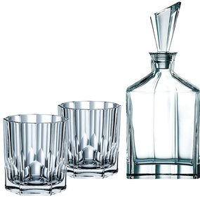 Nachtmann Aspen whisky set 3-piece