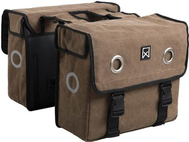 Willex Canvas double panniers