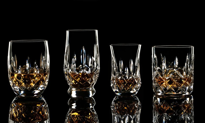 Waterford Lismore Connoisseur Mixed Tumblers - set van 4