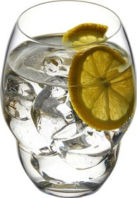 Nude Glass Heads Up water glass - set of 2