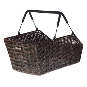 Basil Cento Multisystem bicycle basket brown