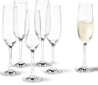 Leonardo Ciao + champagne glass - set of 6