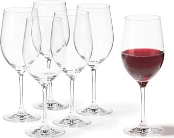 Leonardo Ciao + red wine glass - set of 6