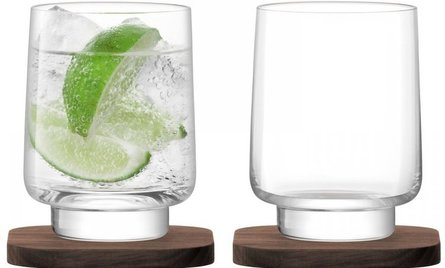 LSA City Bar waterglas - set van 2