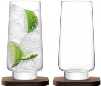 LSA City Bar longdrinkglas - set van 2