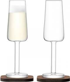 LSA City Bar champagneglas - set van 2