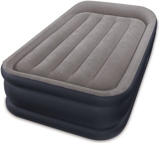 Intex Deluxe Pillow Rest Raised Airbed Twin