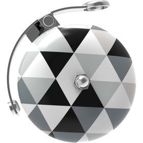 UP Retro bell 60mm Triangle black / white