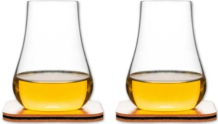 Sagaform Bar whiskey proefglas - set van 2