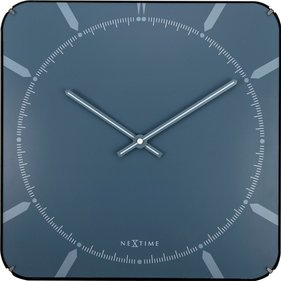 NeXtime Michael Square Dome wall clock