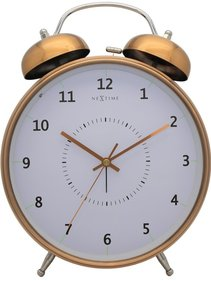 NeXtime Wake Up alarm clock copper