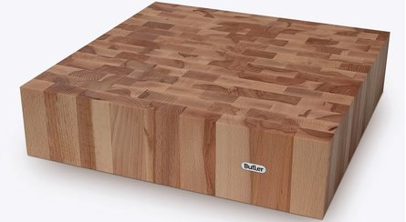 Butler Chopping block BEUK head 40x40cm