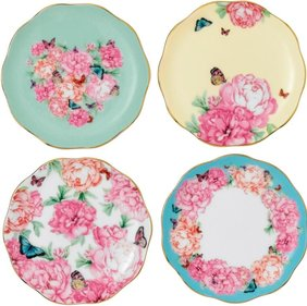 Royal Albert Miranda Kerr set van 4 petit four bordjes