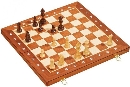 Philos Deluxe chess cassette 47x47 cm