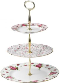 Royal Albert New Country Roses etagère