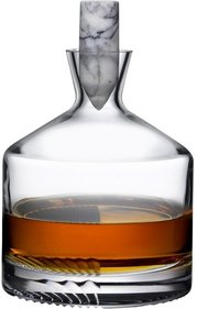 Nude Glass Alba whiskey carafe
