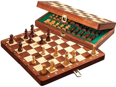 Philos Deluxe Magnetic Travel Chess Set