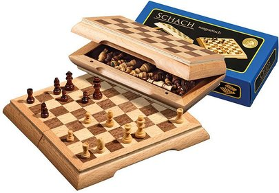 Philos magnetic chess game 17x17 cm