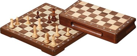 Philos 25 chess cassette 23.5x24 cm