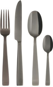 Sambonet Flat Black cutlery set