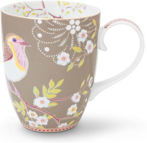 Pip Studio Floral Tasse Vogel 350ml