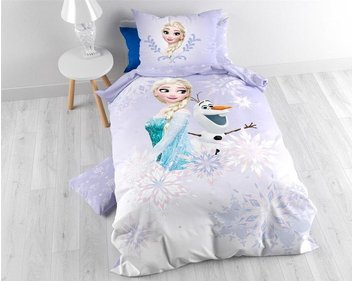 Disney Frozen Soft Winter kinderdekbedovertrek