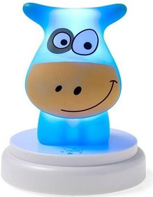 Alecto Naughty Cow children's lamp