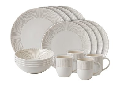 Royal Doulton ED Stripe 16-delige serviesset