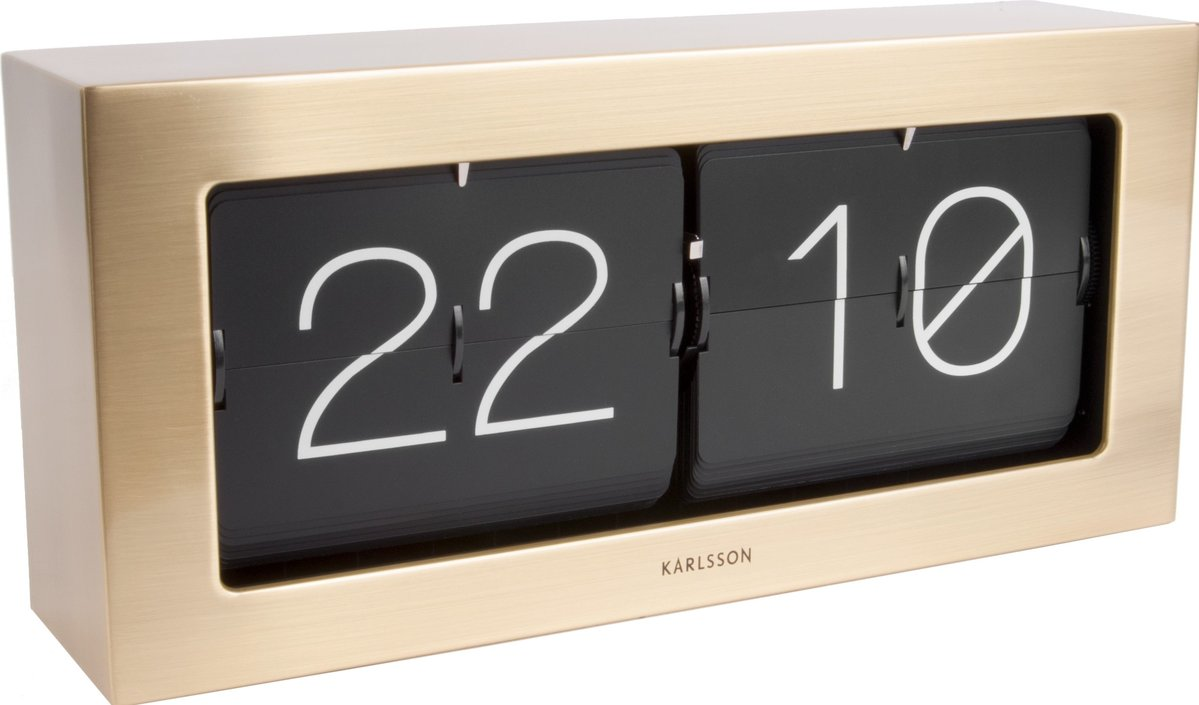 Karlsson Flip XL table clock
