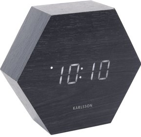 Karlsson Hexagon Wecker