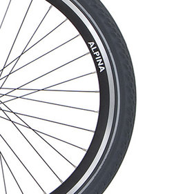 Alp velg 22 J19DB black matt