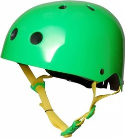 Kiddimoto Neon Green kinderhelm
