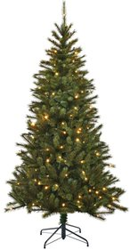 Black Box Kingston kunstkerstboom 120 LED-lichten 155cm