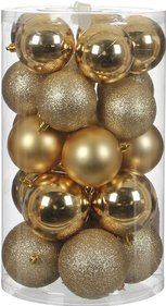 House of seasons Ornament kerstballen 23 stuks