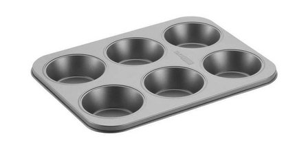 CakeBoss 6-cup bakplaat Mini Pie