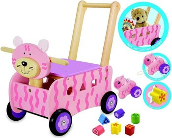 I'm Toy Cat push trolley