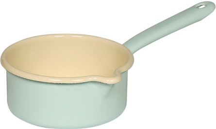 Riess saucepan with spout ø 14cm turquoise