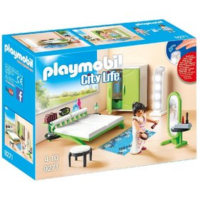 Playmobil Bedroom With Make-Up Table 9271